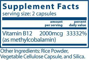 Vital Nutrients Vitamin B12