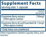 Vital Nutrients Vitex 750 Ingredients