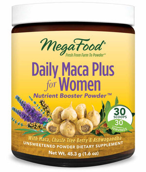 MegaFood Daily Maca Plus For Women Booster