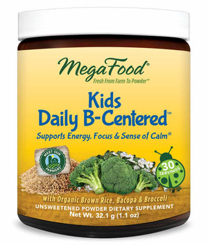 MegaFood Kids Daily B-Centered Nutrient Booster Powder