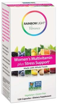 Rainbow Light Vibrance Women's Multivitamin Plus Stress Support