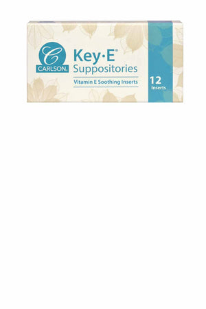 Carlson Labs Key-E® Suppositories