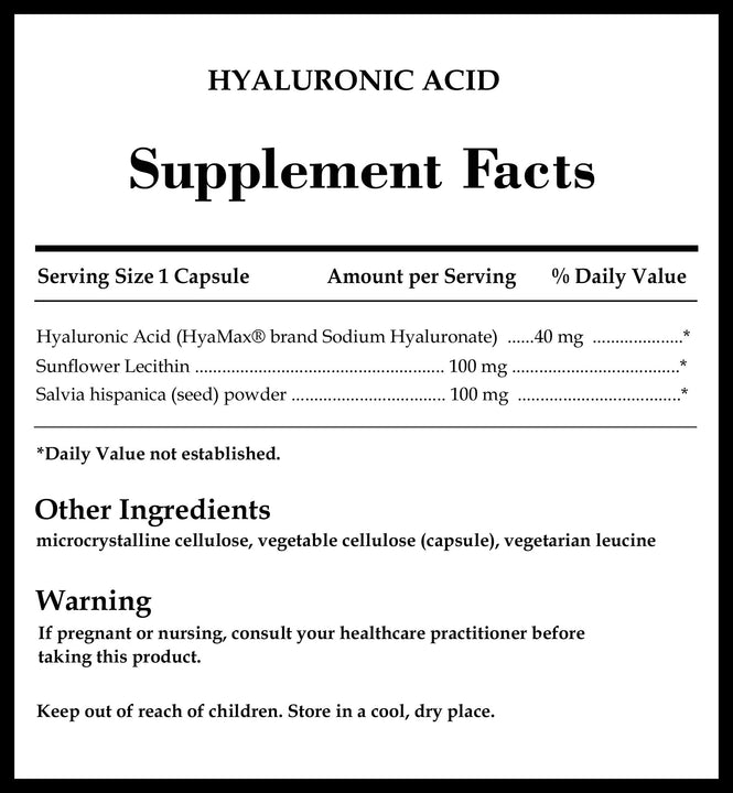 DaVinci Labs Hyaluronic Acid