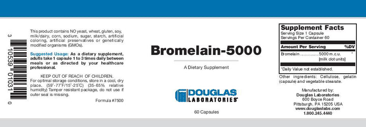 Douglas Laboratories Bromelain-5000
