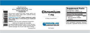 Douglas Laboratories Chromium