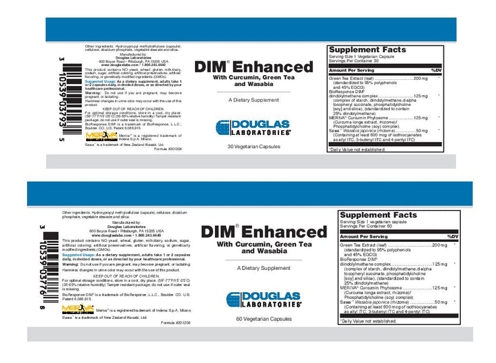 Douglas Laboratories DIM Enhanced