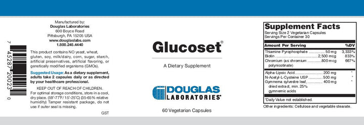 Douglas Laboratories Glucoset