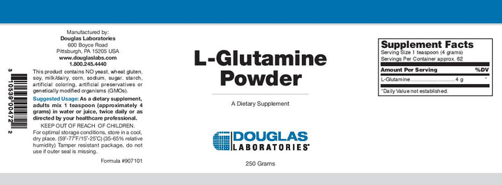 Douglas Laboratories L-Glutamine Powder