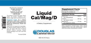 Douglas Laboratories Liquid Cal/Mag/D