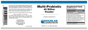 Douglas Laboratories Multi-Probiotic 40 Billion Powder