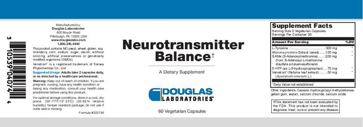 Douglas Laboratories Neurotransmitter Balance