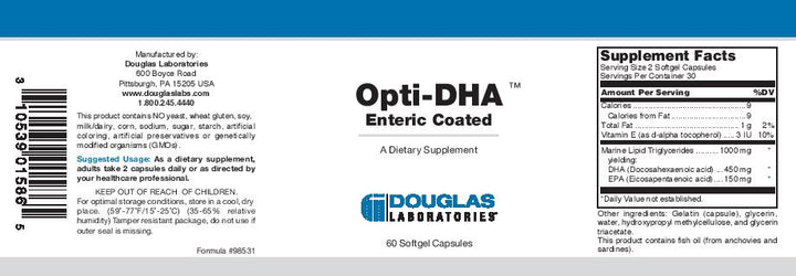 Douglas Laboratories Opti-DHA