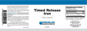Douglas Laboratories Time Released Iron