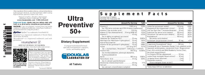 Douglas Laboratories Ultra Preventive 50+