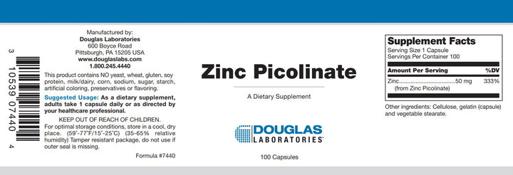 Douglas Laboratories Zinc Picolinate