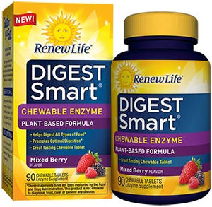 Renew Life Digest Smart Chewable Berry
