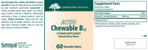 Genestra Brands Active Chewable B12
