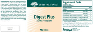 Genestra Brands Digest Plus