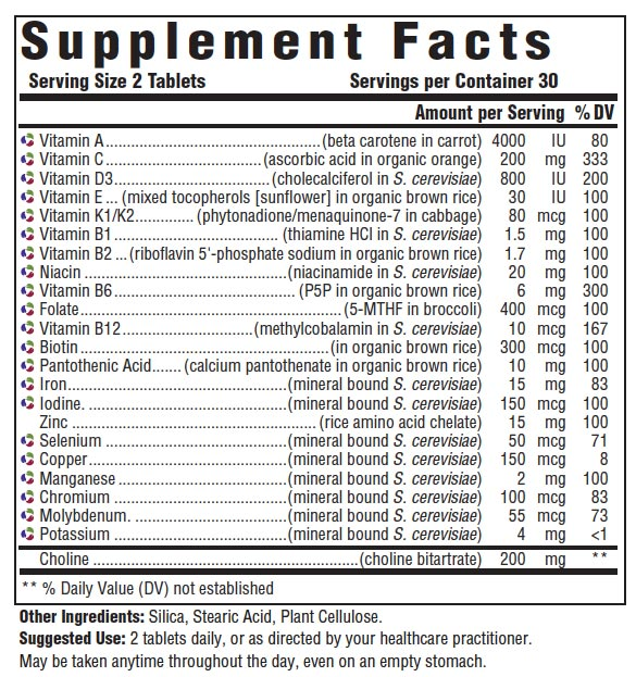 Innate Response Formulas Women's Multivitamin