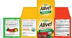 Nature's Way Alive!® Organic Vitamin C (Powder)