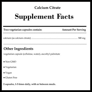 Pure Encapsulations Calcium Citrate