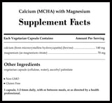 Pure Encapsulations Calcium (MCHA) with Magnesium