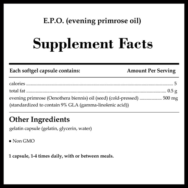 Pure Encapsulations E P O  (evening primrose oil)
