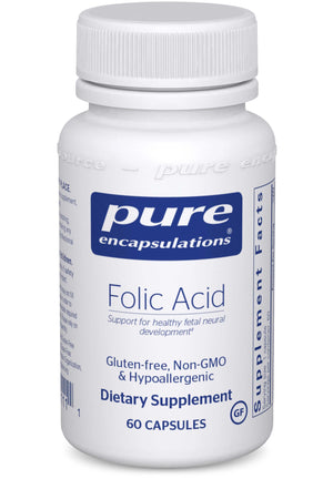 Pure Encapsulations Folic Acid