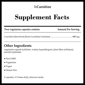 Pure Encapsulations L-Carnitine