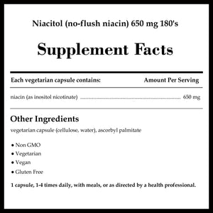 Pure Encapsulations Niacitol 650mg