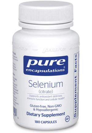 Pure Encapsulations Selenium (citrate)