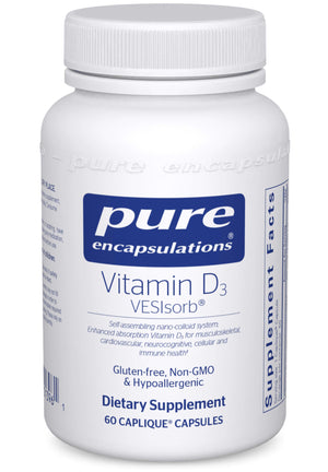 Pure Encapsulations Vitamin D3 VESIsorb