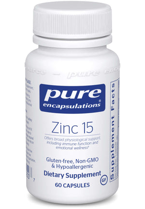Pure Encapsulations Zinc 15