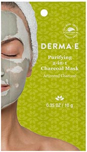 DermaE Natural Bodycare Purifying 2-in-1 Charcoal Mask 10 g