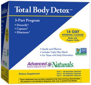 Advanced Naturals Total Body Detox Kit