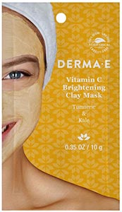 DermaE Natural Bodycare Vitamin C Brightening Clay Mask