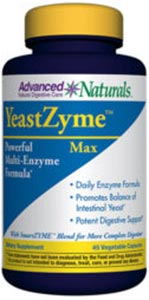 Advanced Naturals YeastZyme Max