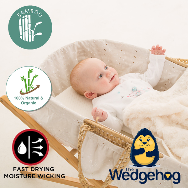 Luxury Bamboo Wedgehog® Deluxe - 28cm Moses Reflux Wedge - includes Free Bundled Reflux eBook