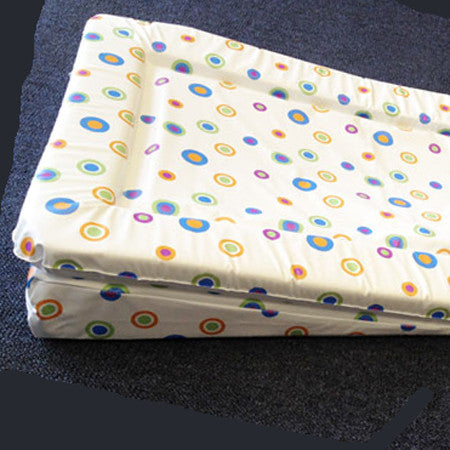 Reflux Changing Mat Wedge - Funky Dots Design