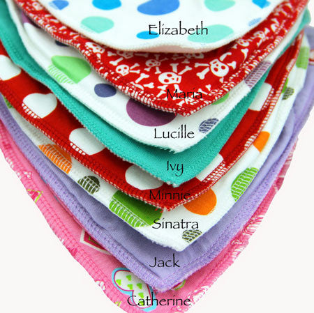 Bandana DryBib for babies that dribble a lot!