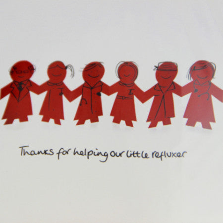 "Reflux ""Thank you"" Cards"