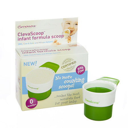Clevamama ClevaScoop - save time on baby's bottle!