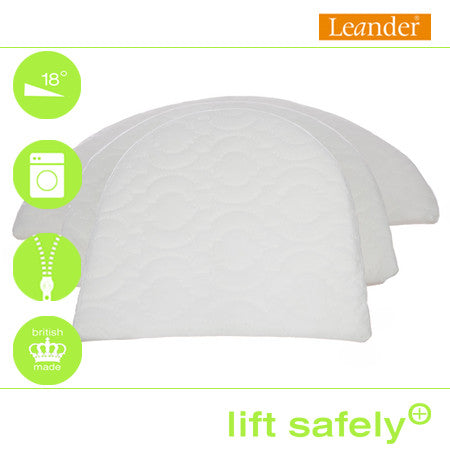 Lift Safely Reflux Wedge Leander Cot™ Bed