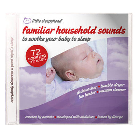 Little Sleepyhead CD - calm household sounds