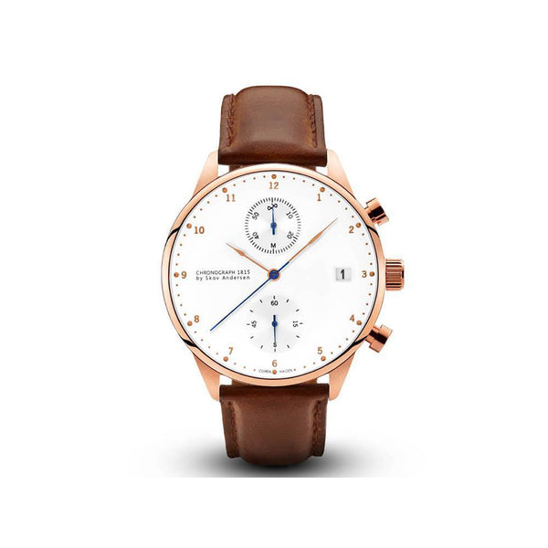1815 Chronograph - rose gold/white-About Vintage-Guldsmed Lauridsen