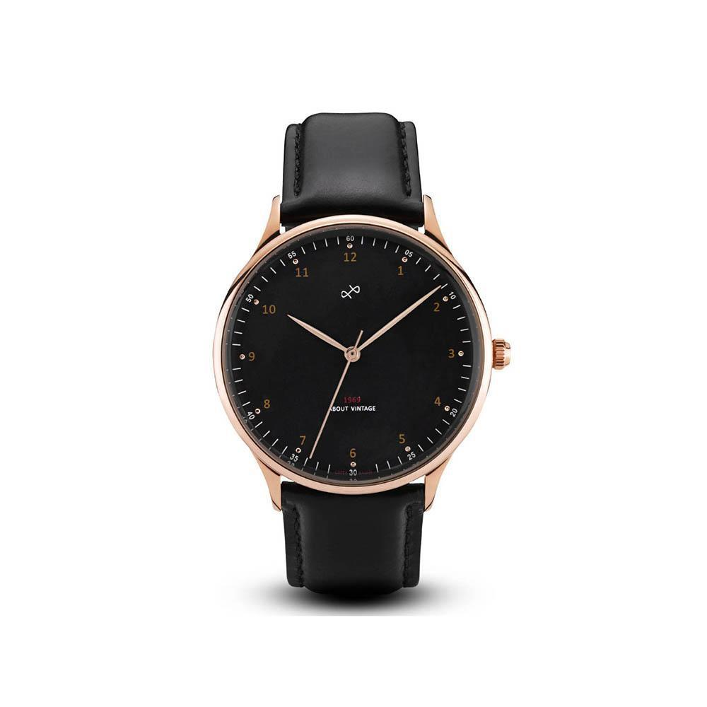 1969 Vintage- rose gold/black-About Vintage-Guldsmed Lauridsen