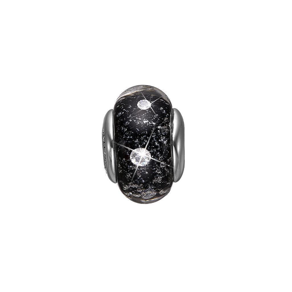 Charm - Black Topaz Globe-Christina Watches-Guldsmed Lauridsen