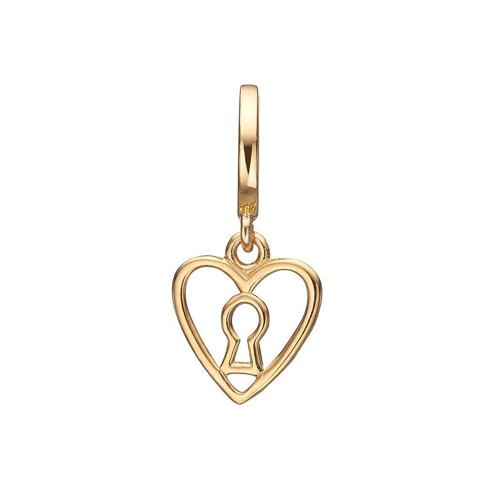 Charm - Keyhole Love-Christina Watches-Guldsmed Lauridsen