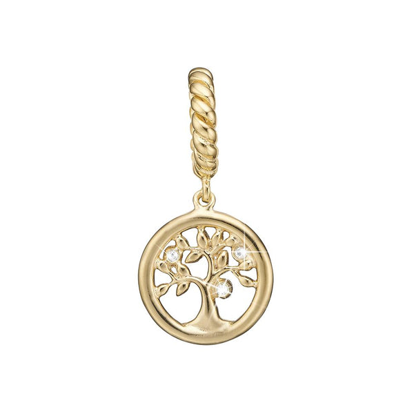 Charm - Topaz Tree of Life-Christina Watches-Guldsmed Lauridsen