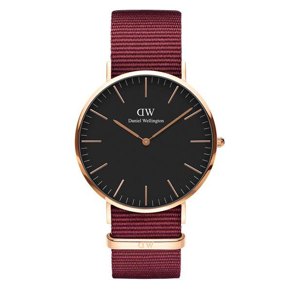Daniel Wellington CLASSIC BLACK ROSELYN 40mm skive-Daniel Wellington-Guldsmed Lauridsen